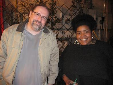 Your host at his fattest with NBC's new star, Dulcé Sloan
